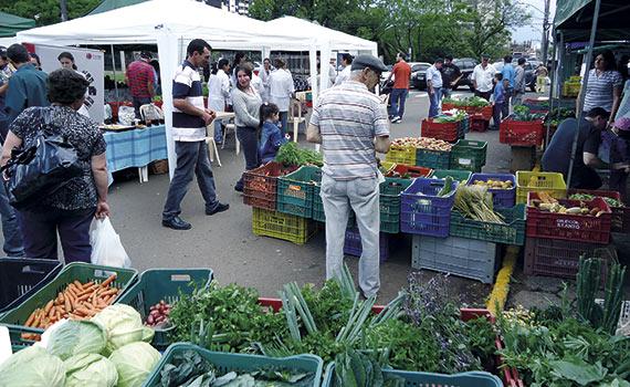 Abastecimento e comercialização de alimentos
