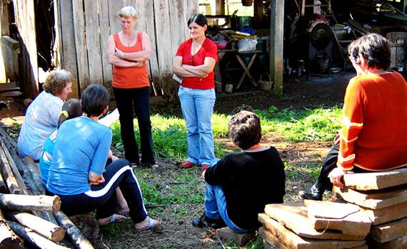 Organização e protagonismo das mulheres agricultoras